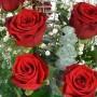 Bouquet « Passion» composition spéciale • Rouge