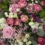 """Bouquet exceptionnel """"Amour Légendaire"""" • blanc et rose"""