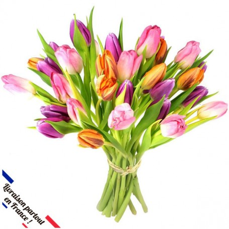 "Bouquet ""IDYLLE"" • Tulipes"