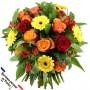 "Bouquet ""COCCINELLE"" • Jaune, Rouge & Orange"