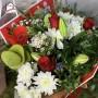 """Bouquet """"Printemps heureux"""" • Rouge ou rose"""