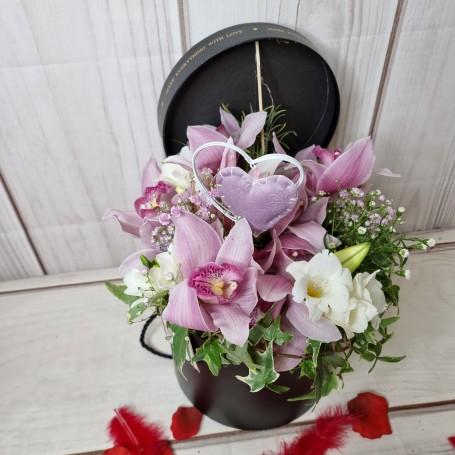 La Boîte de fleurons Orchidées coupées
